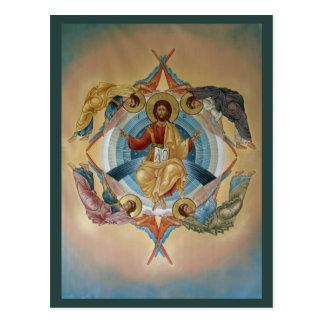 Ascensión de la tarjeta del rezo de Cristo