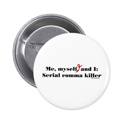 Asesino de la coma pins