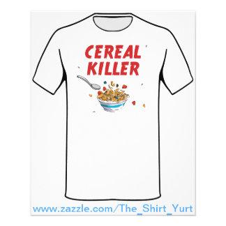 Asesino del cereal de desayuno folleto 11,4 x 14,2 cm