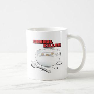 asesino del cereal tazas de café
