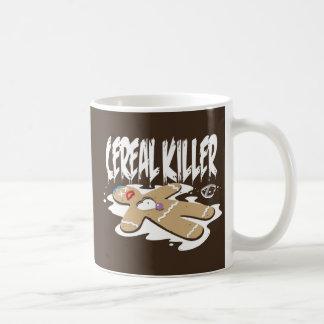 Asesino del cereal taza de café