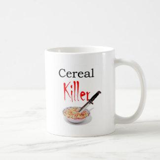 Asesino del cereal taza clásica