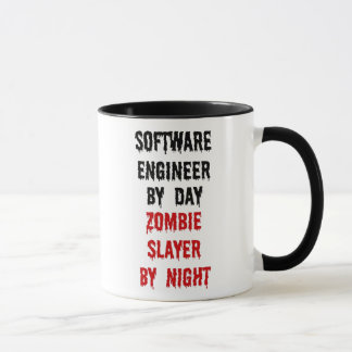 Asesino del zombi de la Software Engineer Taza