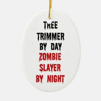 Asesino del zombi del condensador de ajuste del adorno de cerámica