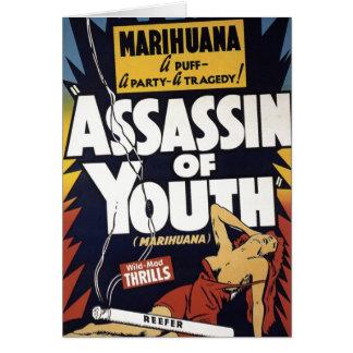 Asesino tarjeta de la juventud