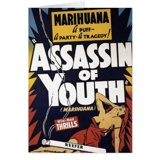 """""""Asesino tarjeta de la juventud"""""""