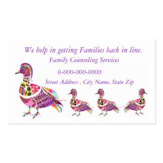 Asesoramiento de servicios tarjetas de visita