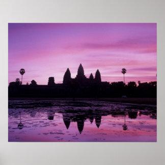 Asia, Camboya, Siem Reap, Angkor Wat (B. 12mo 2 Póster