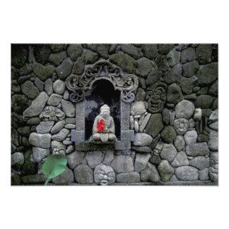 Asia, Indonesia, Bali. Una capilla de Buda Impresion Fotografica