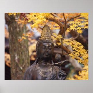 Asia, Japón, Buda Póster
