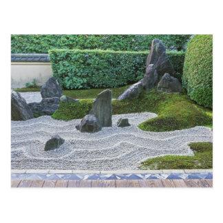 Asia, Japón, Kyoto, templo de Daitokuji, Zuiho-en Postal