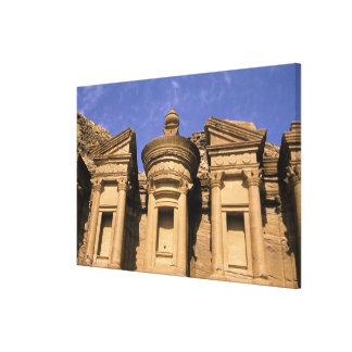 Asia, Jordania, Petra. EL Deir, el monasterio. 2 Impresiones En Lienzo Estiradas
