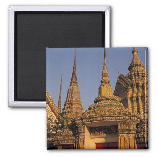 Asia, Tailandia, Bangkok, Wat Po, ciudad más vieja Imán Para Frigorifico