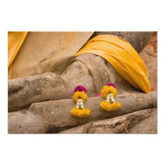 Asia, Tailandia, Tailandia, Buda en Ayutthaya Impresion Fotografica