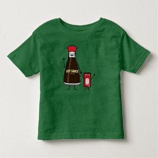 Asiático del condimento del niño del niño del camiseta de bebé