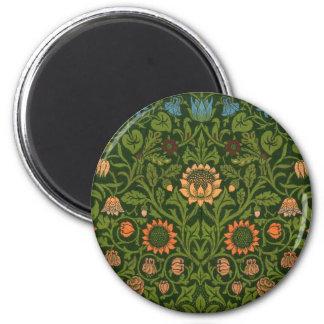 Asiático verde rojo de la alfombra de la manta de imán