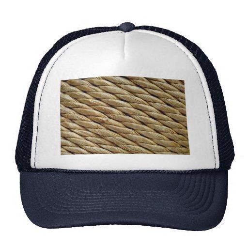 Asiento tejido de la silla gorras de camionero