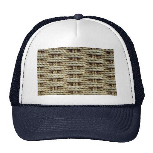 Asiento tejido hermoso de la silla gorras