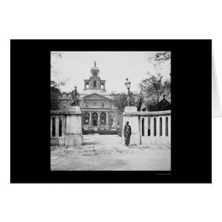 Asilo huérfano en Charleston, SC 1865 Felicitacion