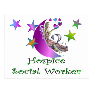 Asistente social del hospicio postal
