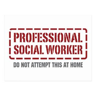 Asistente social profesional postales