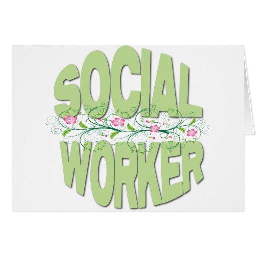 Asistente social felicitación