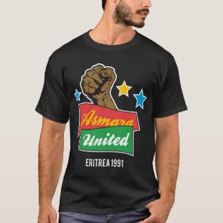Asmara unió #2 camiseta