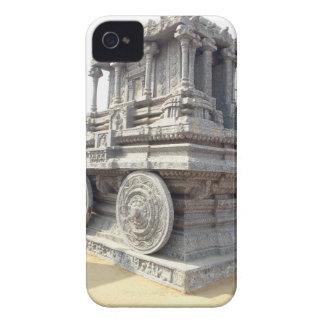 ASOLEE los templos de la estatua de piedra Carcasa Para iPhone 4
