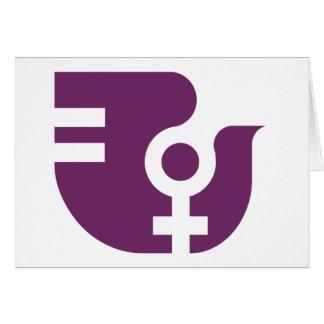 Associació Catalana de la Dona Tarjeta De Felicitación
