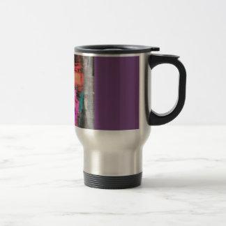 """Astract """"en camino"""" taza de café"""