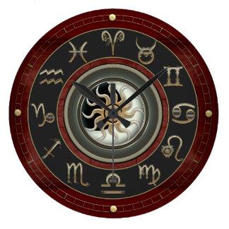 Astrología Reloj Redondo Grande