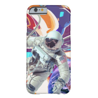 Astronaut Space NASA cover iPhone 6/6s Funda Barely There iPhone 6