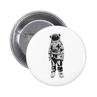 Astronauta Chapa Redonda De 5 Cm