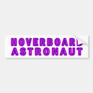 Astronauta de Hoverboard Pegatina Para Coche