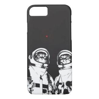 Astronauta del gato funda para iPhone 8/7