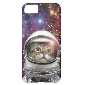 Astronauta del gato - gato loco - gato carcasa iPhone 5C