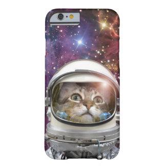 Astronauta del gato - gato loco - gato funda barely there iPhone 6