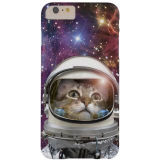 Astronauta del gato - gato loco - gato funda barely there iPhone 6 plus