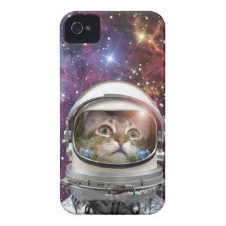 Astronauta del gato - gato loco - gato funda para iPhone 4