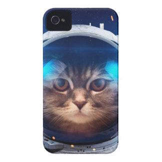 Astronauta del gato - gatos en espacio - espacio funda para iPhone 4 de Case-Mate