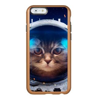 Astronauta del gato - gatos en espacio - espacio funda para iPhone 6 plus incipio feather shine
