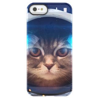 Astronauta del gato - gatos en espacio - espacio funda permafrost® para iPhone SE/5/5s