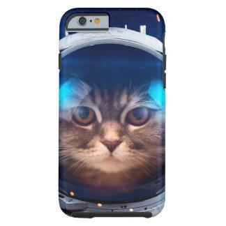 Astronauta del gato - gatos en espacio - espacio funda resistente iPhone 6
