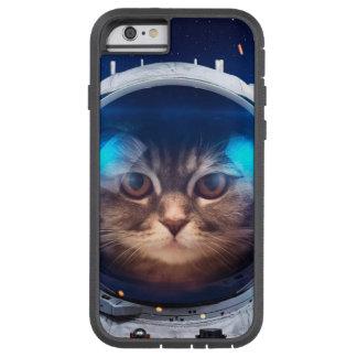 Astronauta del gato - gatos en espacio - espacio funda tough xtreme iPhone 6