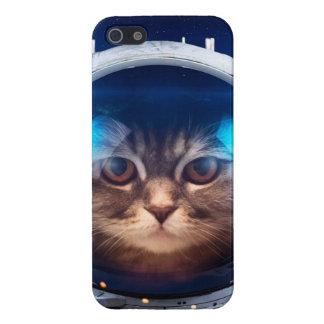 Astronauta del gato - gatos en espacio - espacio iPhone 5 carcasas