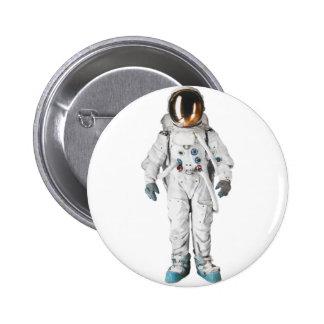 Astronauta en espacio pins