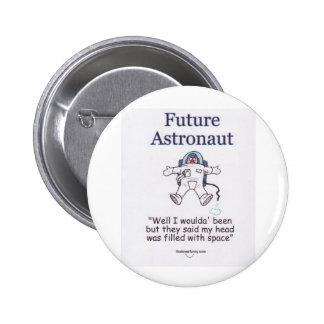 Astronauta futuro pin