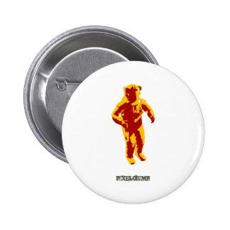 Astronauta gráfico pin