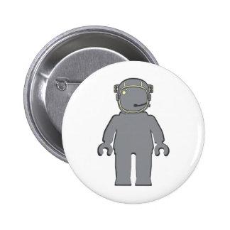 Astronauta Minifig del estilo de Banksy Pin
