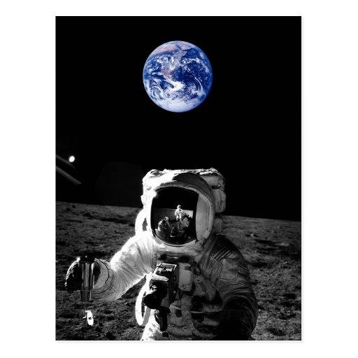 Astronauta Tarjetas Postales
